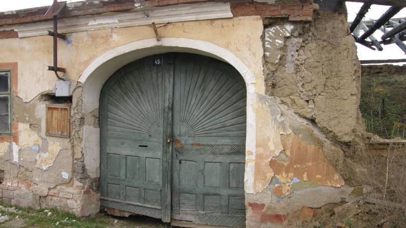 Památkově chráněný dům ve Slupi před několika lety