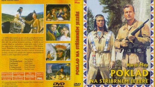 Poklad na stříbrném jezeře / přebal DVD