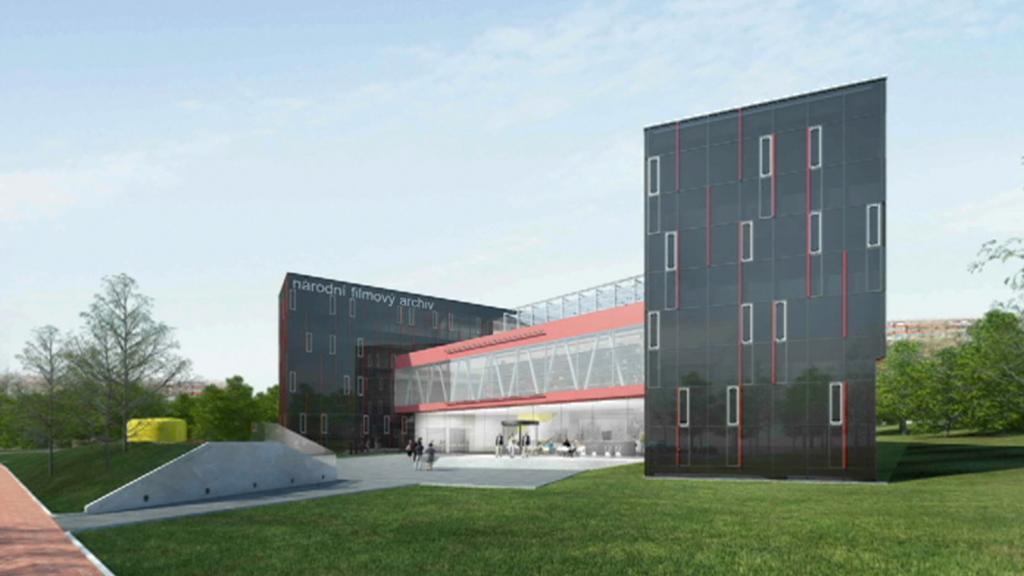 Vizualizace nové budovy NFA