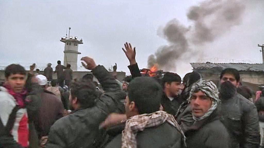 Afghánské protesty proti spálení několika výtisků koránu