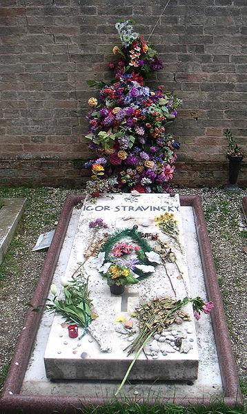 Hrob Igora Stravinského