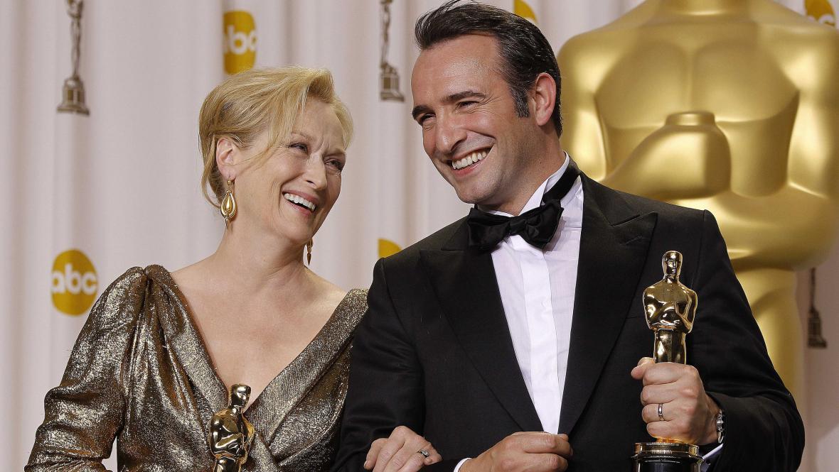 Meryl Streepová a Jean Dujardin