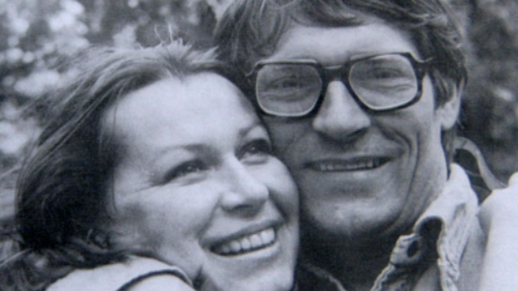 Zdena Tominová s manželem