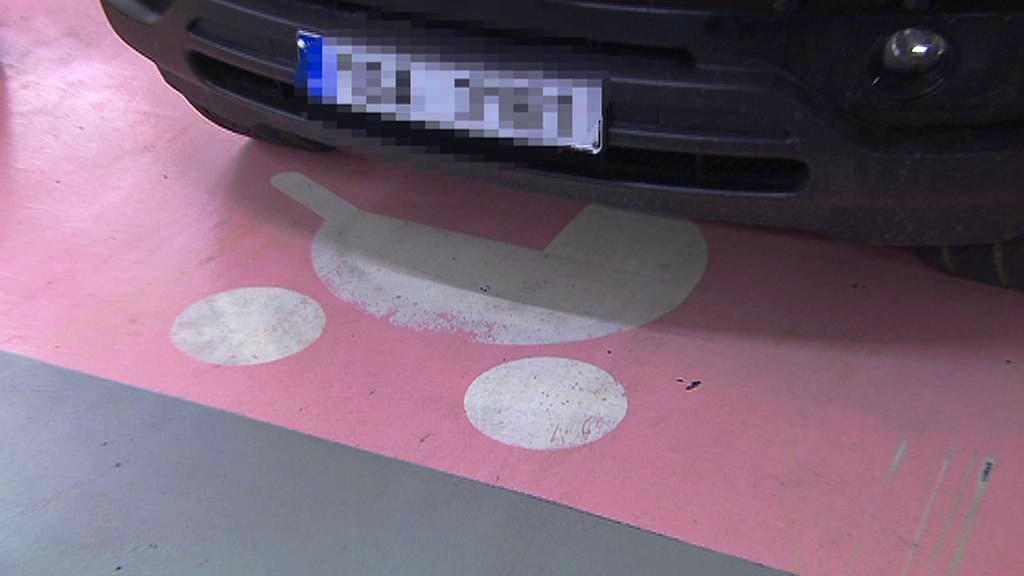 Parkování pro rodiny s dětmi