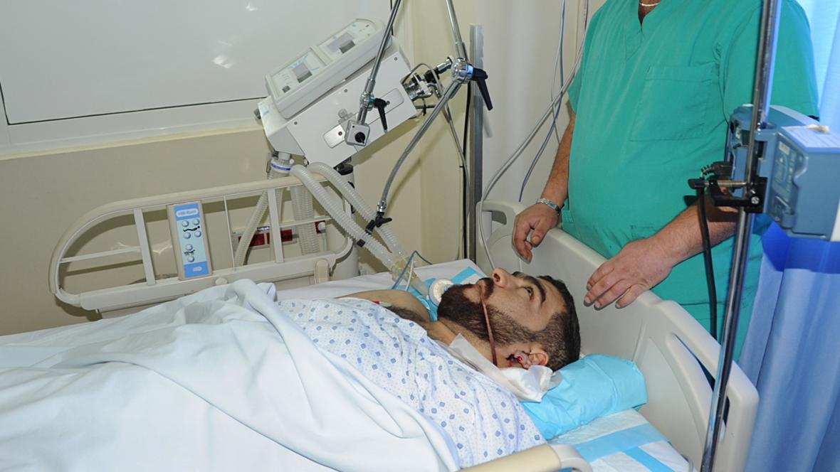 Oběť násilí v Sýrii