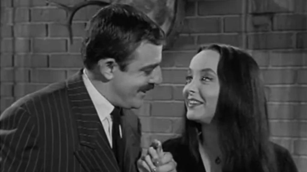 Gomez a Morticia Addamsovi