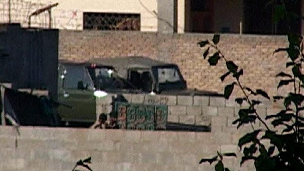 Pákistánská armáda v sídle Usámy bin Ládina
