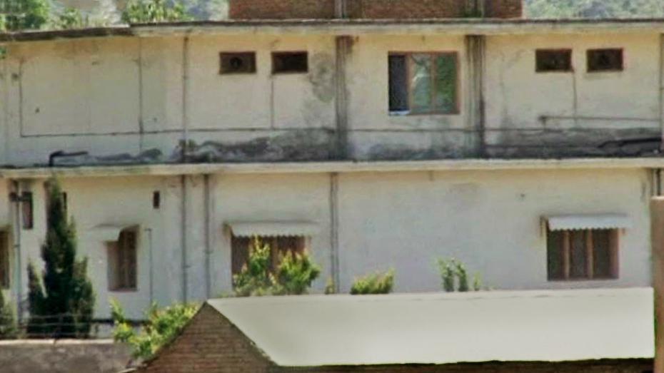 Obytný komplex, kde se skrýval bin Ládin