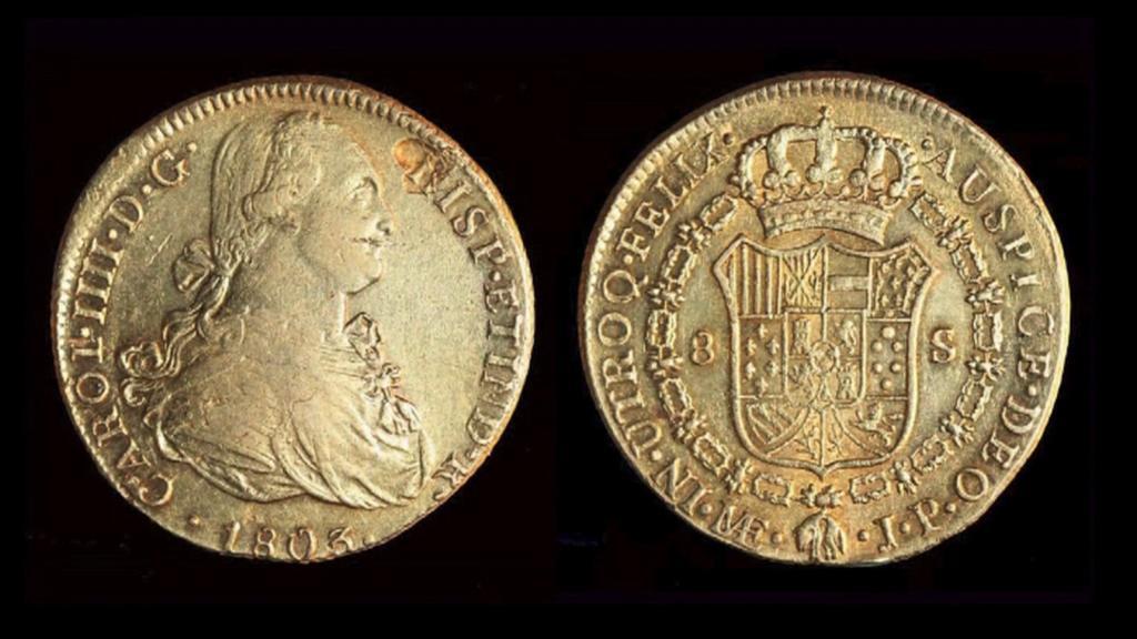 Mince z galeony Nuestra Señora de Las Mercedes