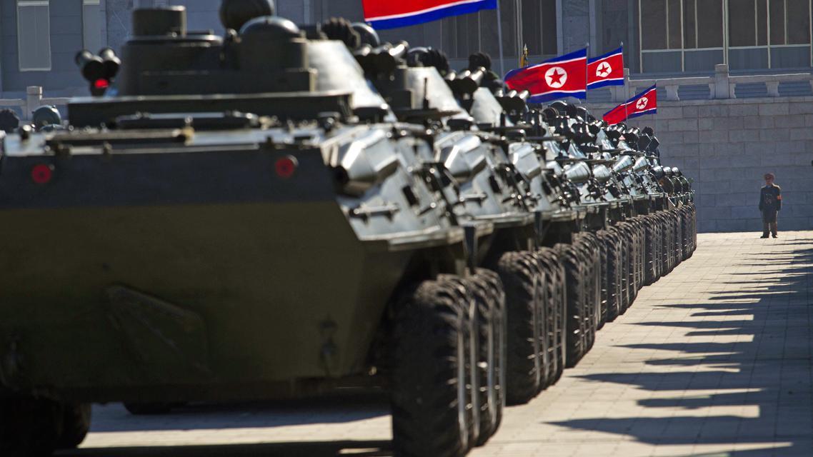 Přehlídka na počest Kim Čong-ila