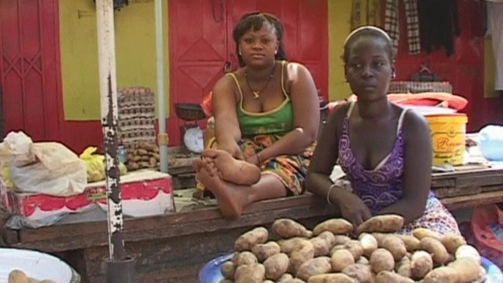 Trh v Guinei