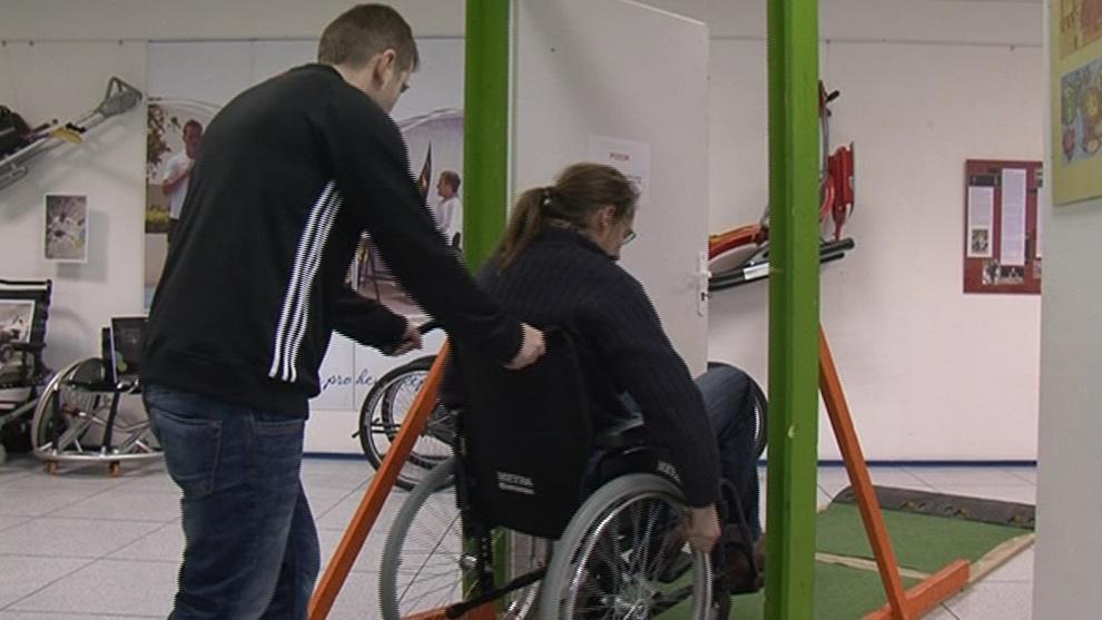 Návštěvníci mohou zkusit život s handicapem na vlastní kůži