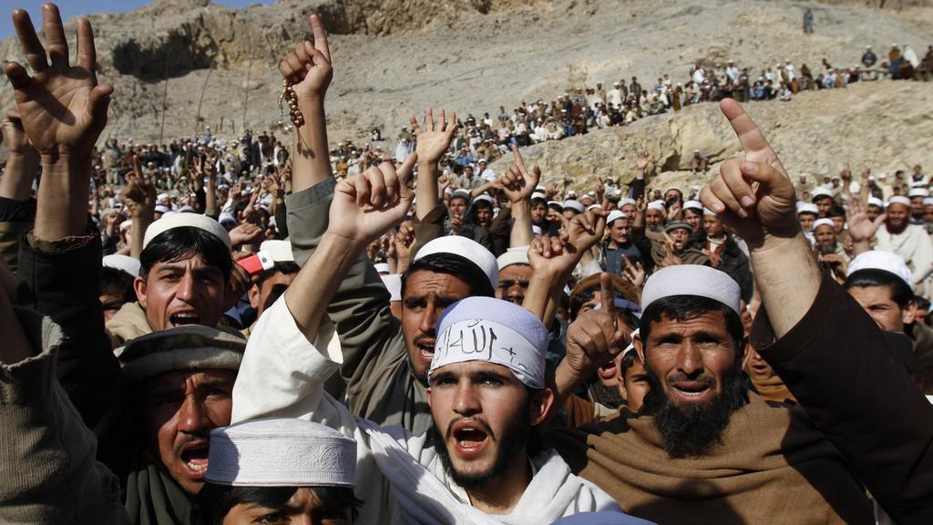 Demostrace v Afghánistánu