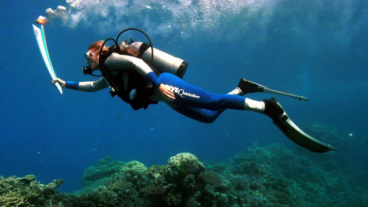 Potápění u Velkého bariérového útesu
