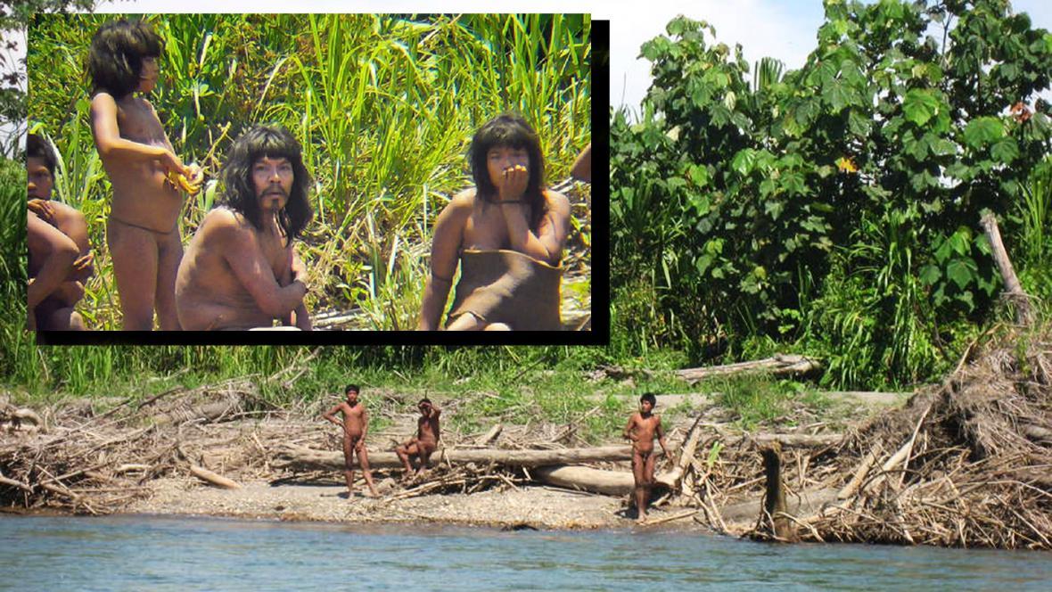 Peruánský indiánský kmen Mashco-Piro