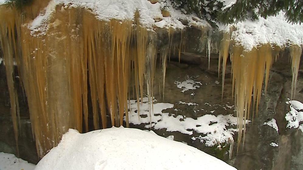 Pulčínské ledopády