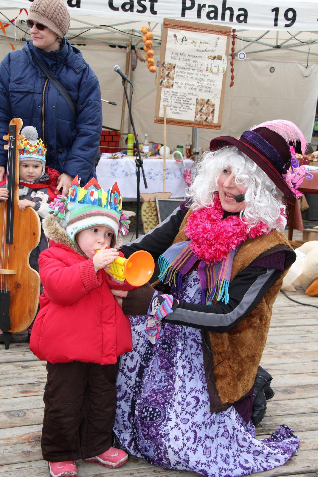 Masopust Kbely - dětská soutěž o nejlepšího muzikanta