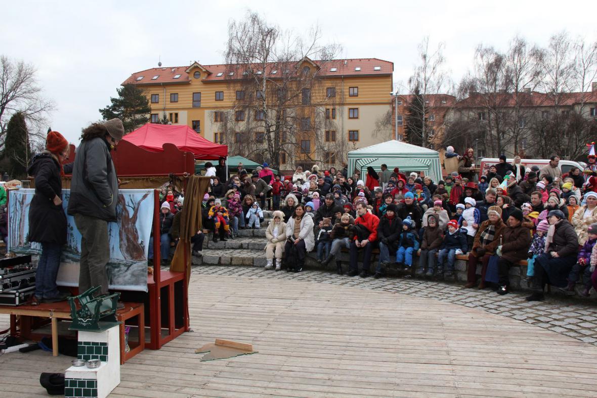 Masopust Kbely - loutkové divadlo pro děti