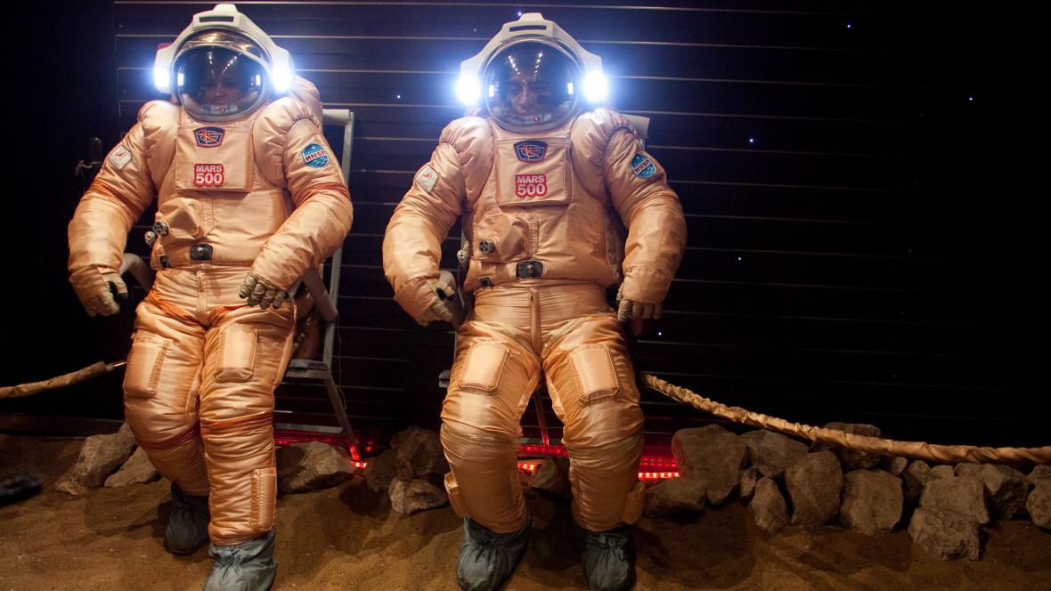 Simulovaná výprava na Mars