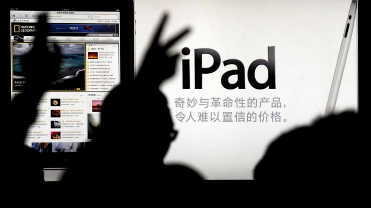 Prodej iPadu v Číně