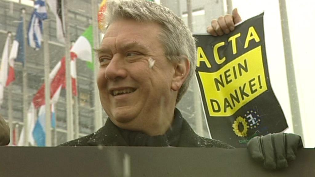 Protest proti smlouvě ACTA