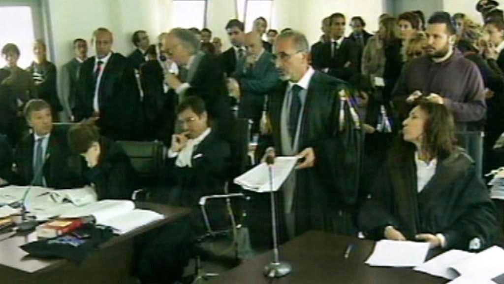 Soud v italské Aquile