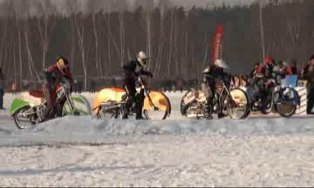 Závody na ledové ploché dráze