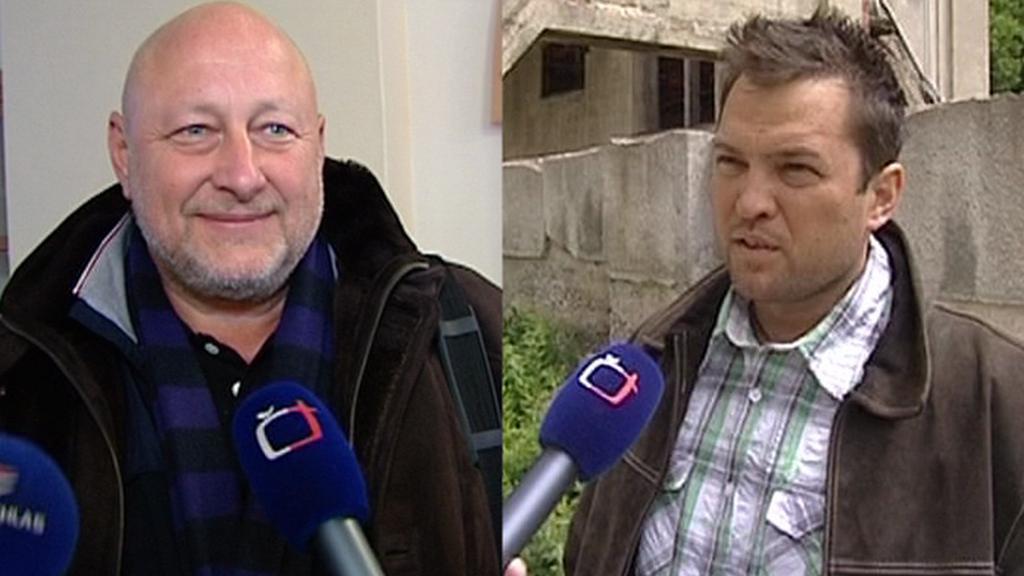 Vlastimil Balcar a Petr Bursík