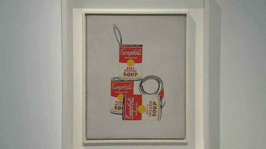 Campbellovy polévky od Andy Warhola