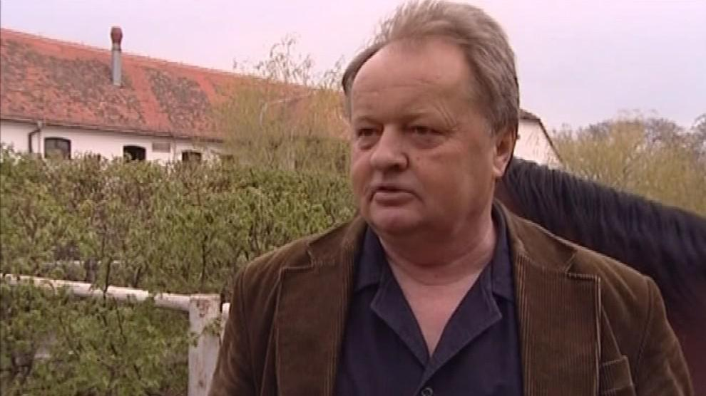 Jaroslav Kroutilík, majitel koňské farmy