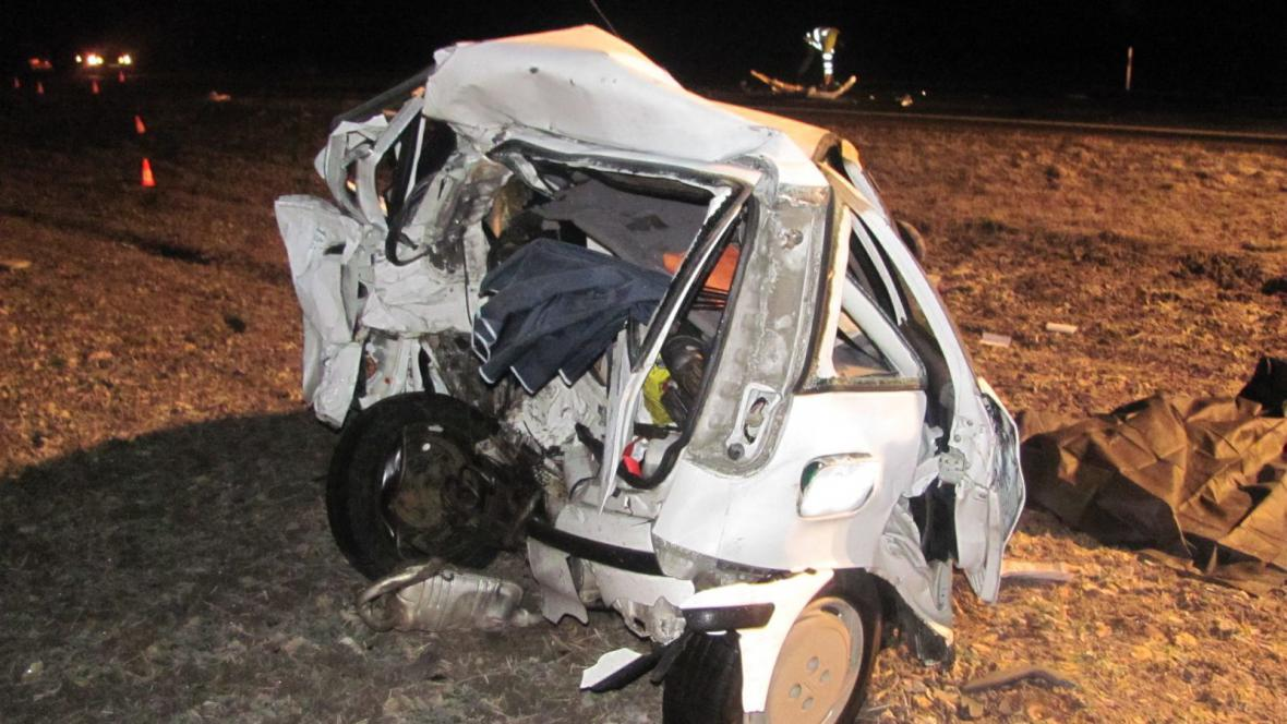 Tragická nehoda u Hulína
