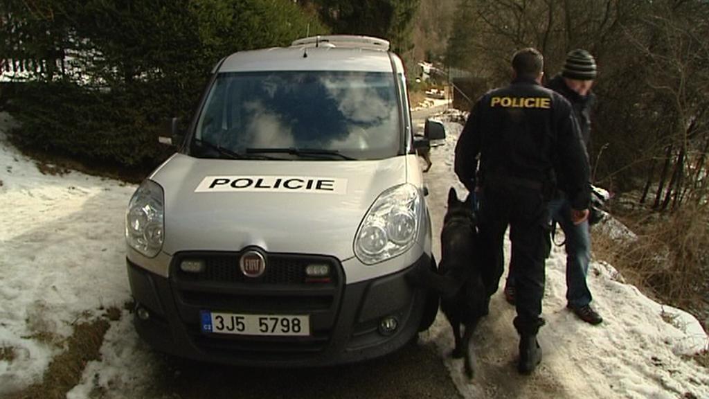 Policisté na obhlídce