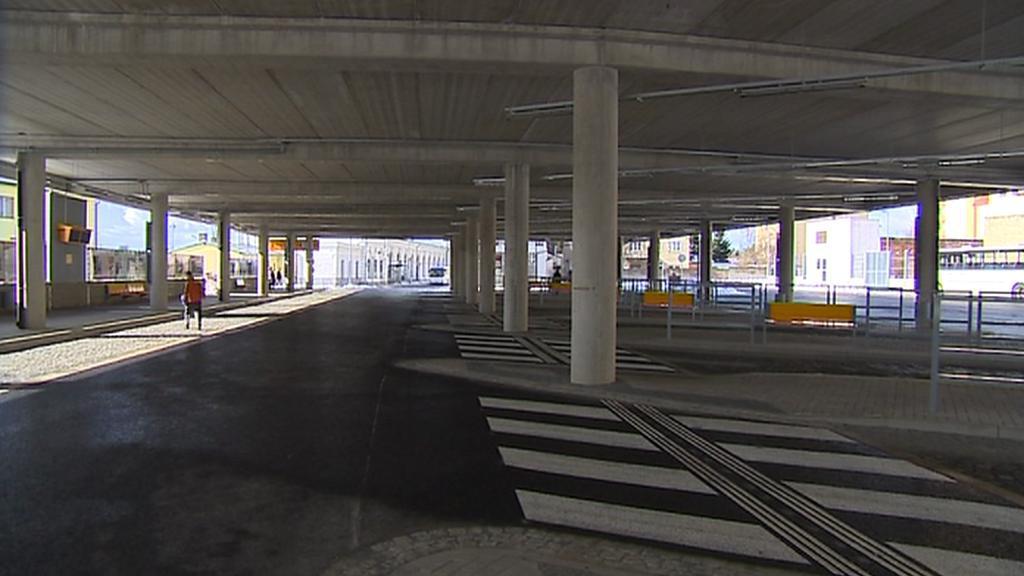 Nové autobusové nádraží v Turnově