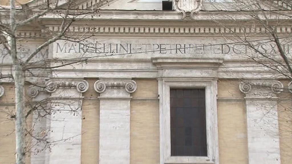 Dukova titulární bazilika - kostel svatého Marcellina a Petra