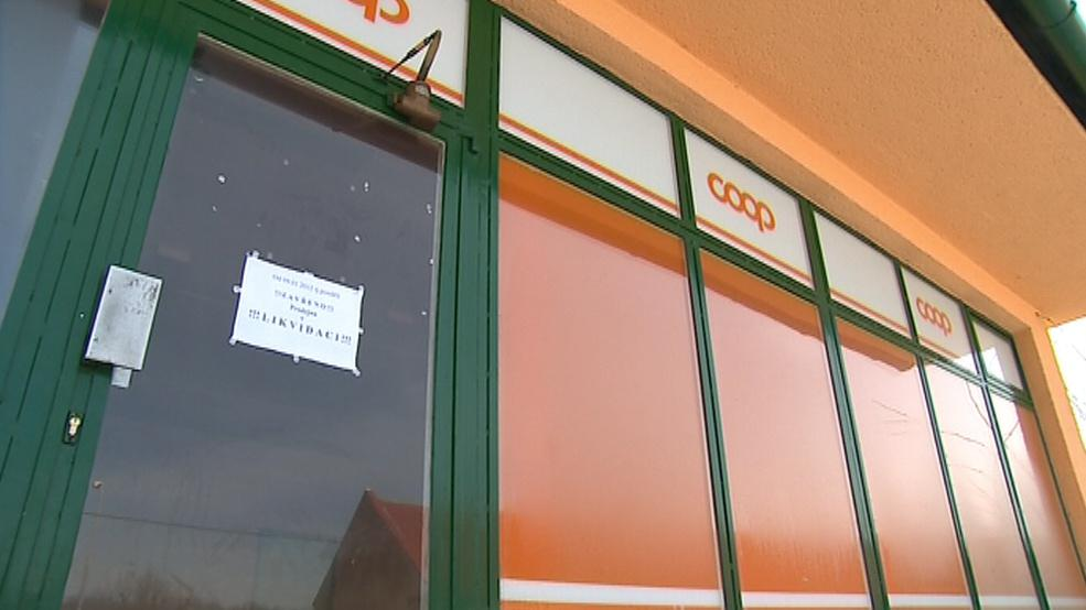 Jediná prodejna zavřela