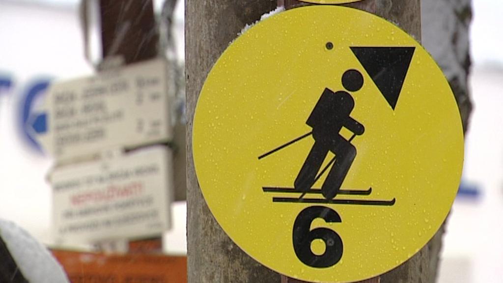 Skitouringová trasa