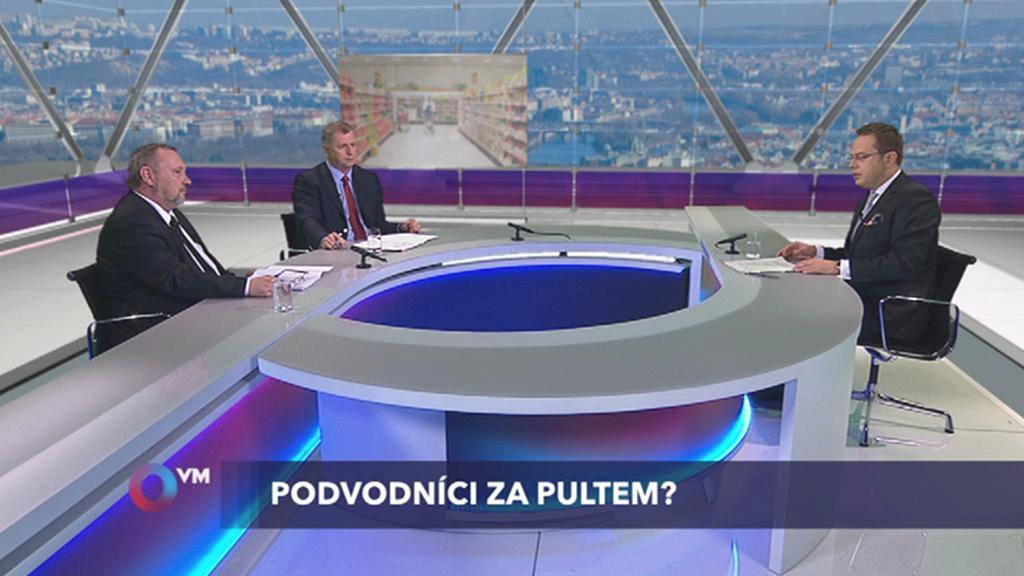 Otázky Václava Moravce o kvalitě potravin