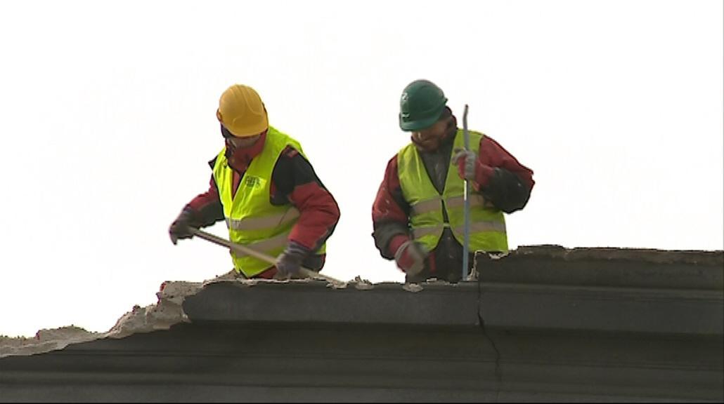 Dělníci už začali s demoličními pracemi