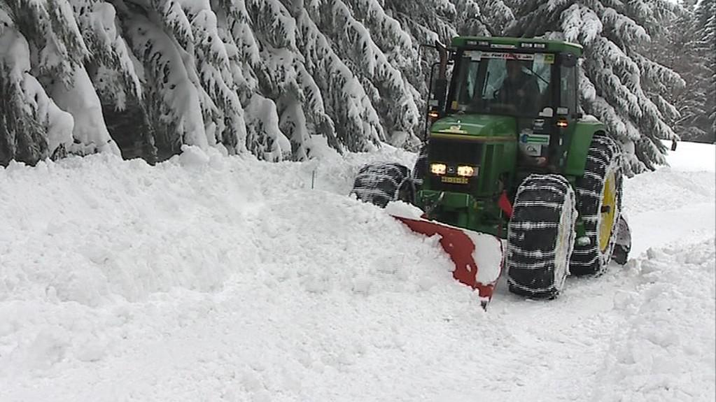 Sněhová kalamita ve Francově Lhotě