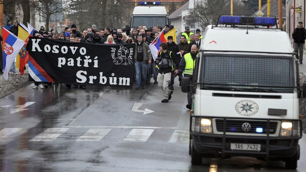 Demonstrace Dělnické mládeže v Jihlavě