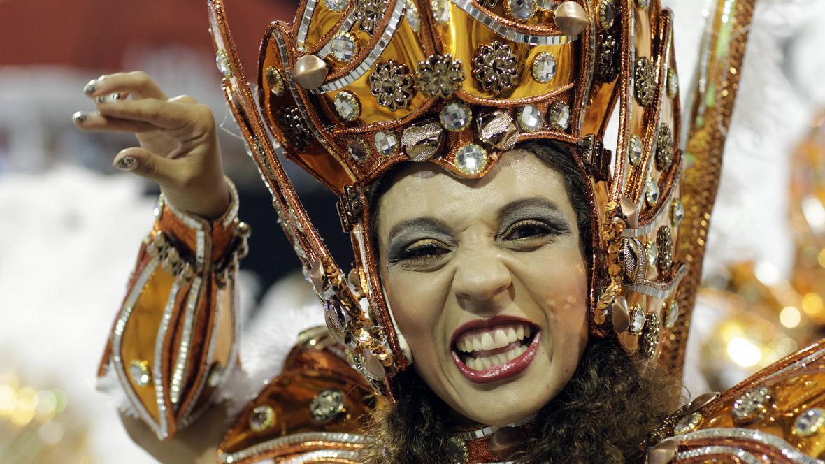 Karneval v Sao Paulu
