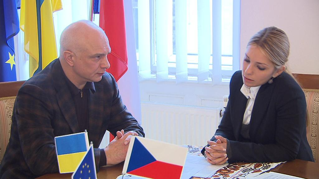 Olexandr Tymošenko a Jevgenija Carrová