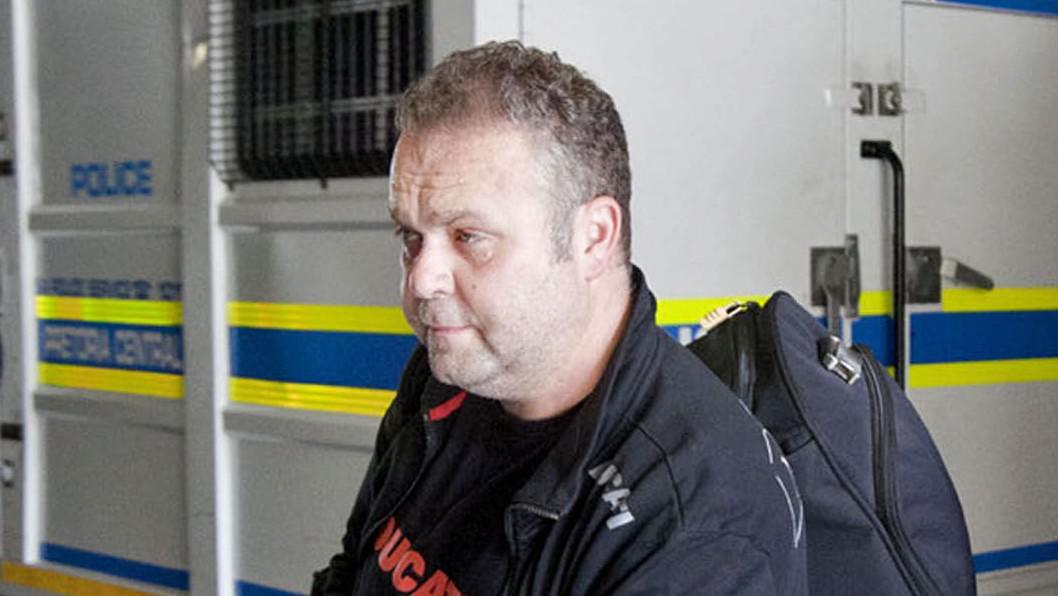 Radovan Krejčíř před soudem v Pretorii
