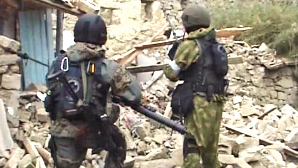 Ruské bezpečnostní síly na Kavkaze