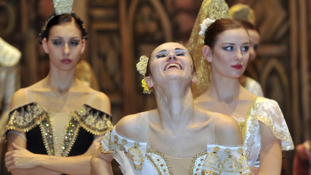 Generální zkouška baletu Don Quijote