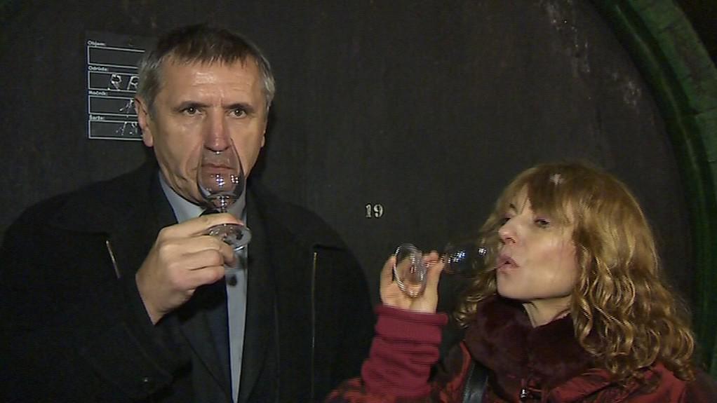 Žehnání mešnímu vínu v Kroměříži
