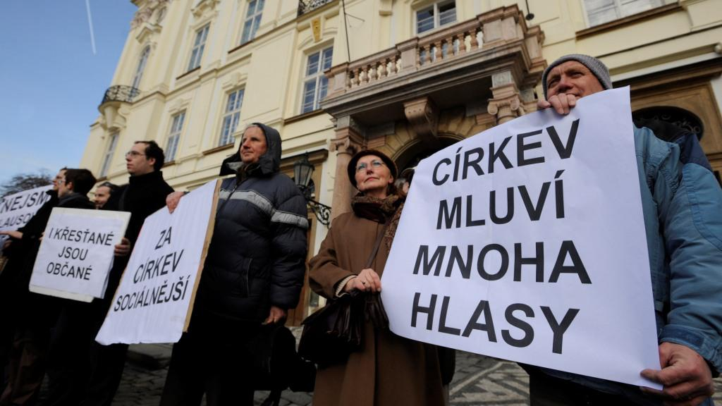 Protest proti politice D. Duky