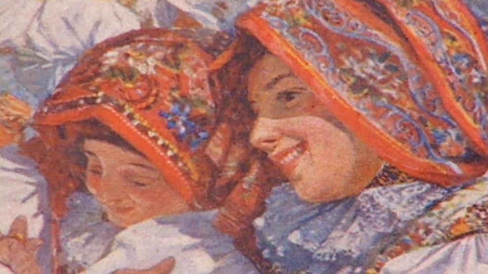 Detail díla Joži Uprky