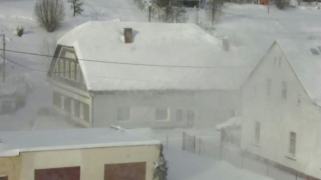 Vítr a sníh v Lánově