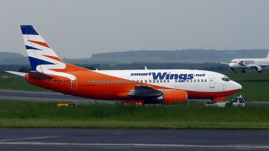 Letadlo společnosti Smart Wings